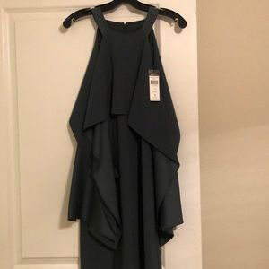 Bcbg women's dress. Cold shoulder long bell sleeve